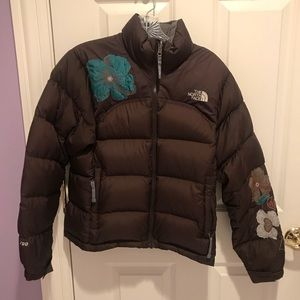 The North Face Embroidered Puffer